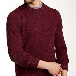 J. Crew Men's Medium Cabernet Donegal Sweater